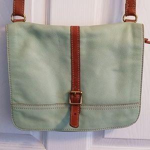 Crossbody fossil purse